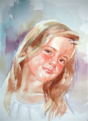 watercolor portrait step by step portrait artist forum